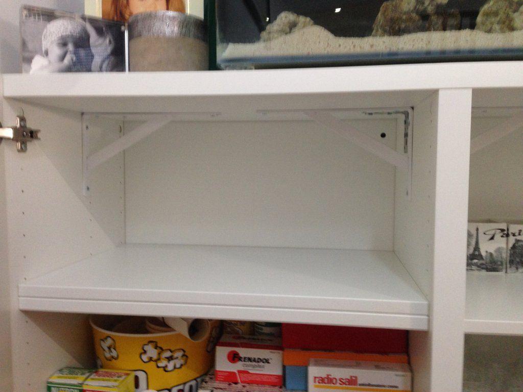 Mueble Besta De Ikea Para 100 Litros Todomarino Foro De  # Muebles Pecera Ikea
